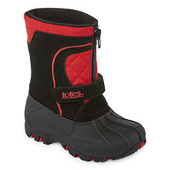 Totes Jason Boys Water Resistant Winter Boots - Toddler