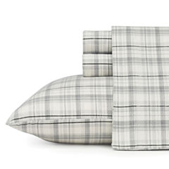 Eddie Bauer® Flannel Easy Care Sheet Set