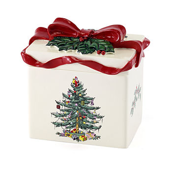 avanti spode christmas tree bathroom canister