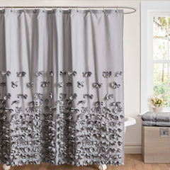 Lush Decor Lush Décor Juliet Bow Shower Curtain