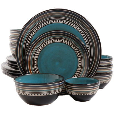 dinnerware sets blue  sc 1 st  JCPenney & Blue Dinnerware For The Home - JCPenney
