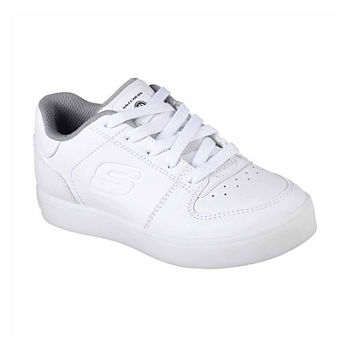 skechers shoes for girls white