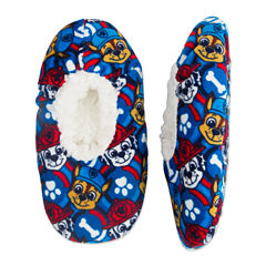 Paw Patrol Fuzzy Slippers- Boys