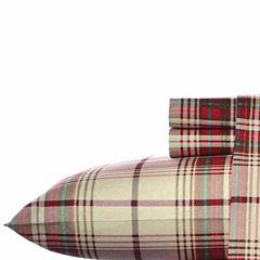 Eddie Bauer® Montlake Easy Care Flannel Sheet Set