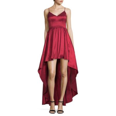 B. Darlin Sleeveless Ball Gown,Juniors