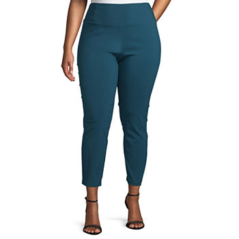 Women Department: Plus Size, Pull-on Pants - JCPenney