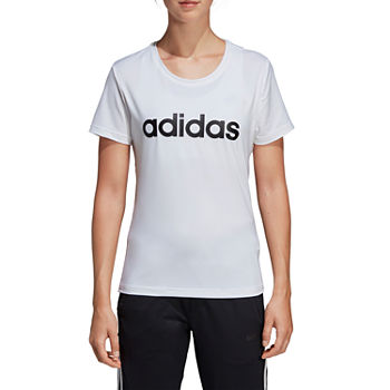 adidas Designed To Move Tee-Womens Crew Neck Short Sleeve T-Shirt