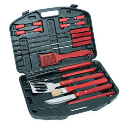 Natico 18 pc Deluxe BBQ Tool Set
