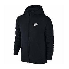 Nike Front Zip Hoodie Hoodie-Big Kid Boys
