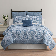 Home Expressions Emma Medallion Quilt & Accessories