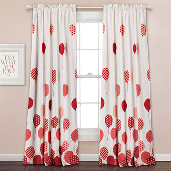 Bedroom Curtains Decor Pink