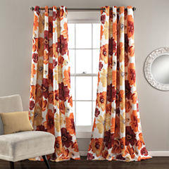 Leah Room Darkening Curtain Panel