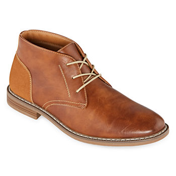 Mens Boots: Chukkas, Leather & Dress Boots for Men JCPenney
