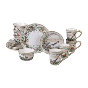 Christmas Dinnerware.Christmas Dinnerware Sets Dinnerware For The Home Jcpenney