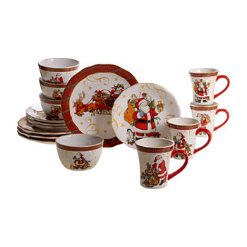 Christmas Dinnerware.Christmas Dinnerware For The Home Jcpenney