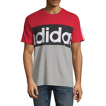 adidas Mens Crew Neck Short Sleeve T Shirt