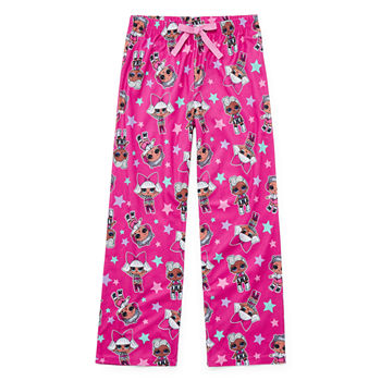 Little Girls Microfleece LOL Pajama Pants
