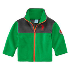 Us Polo Assn. Midweight Fleece Jacket-Baby Boys