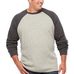 The Foundry Big & Tall Supply Co. Long Sleeve Crew Neck T-Shirt-Big and Tall