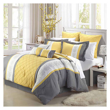 Chic Home Livingston 8-pc. Midweight Comforter Set