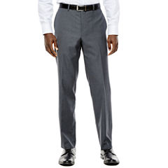 Collection by Michael Strahan Gray Weave Flat-Front Suit Pants - Classic Fit