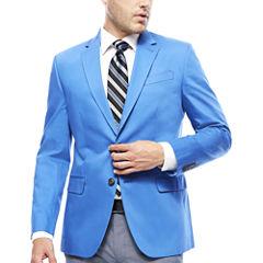 JF J. Ferrar® Cotton Cobalt Sport Coat - Slim Fit