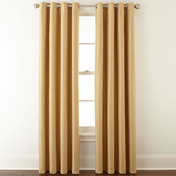 Blackout Yellow Curtains Drapes For Window
