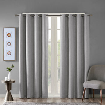 Sunsmart Arlie Energy Saving Blackout Grommet-Top Single Curtain Panel