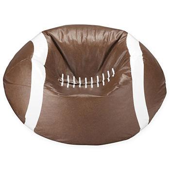 Magnificent Football Beanbag Chair Machost Co Dining Chair Design Ideas Machostcouk