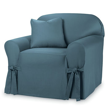 Slipcovers Blue Chair Cushions Covers For The Home Jcpenney