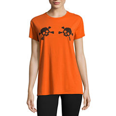 City Streets Halloween Graphic T-Shirt