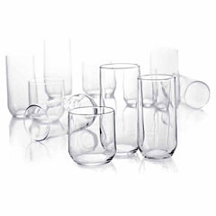 Luminarc Metro 18 PC Drinkware Set