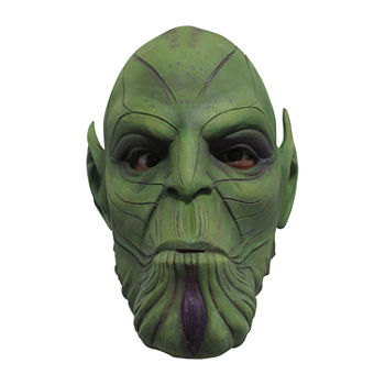 Marvel Marvel Captain Marvel Adult Nuro Skrulls Full Overhead Latex Mask Unisex Costume Unisex Costume