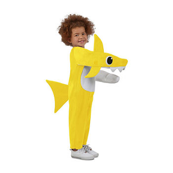 Child Chompin' Baby Shark Costume With Sound Chip Unisex Costume Unisex Costume