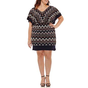 Plus Size Blouson Dresses Dresses For Women Jcpenney
