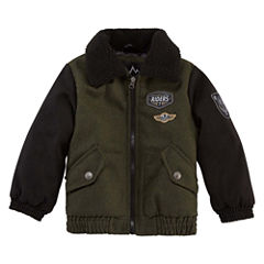 Wool Bomber Jacket- Boys Toddler