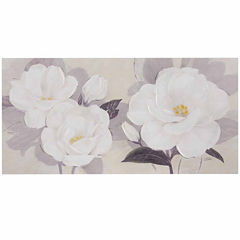 Madison Park Midday Bloom Florals Paint Embell Canv