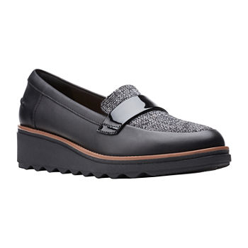 Clarks Womens Sharon Gracie Loafers