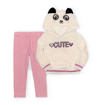 Nannette Baby Toddler Girls 2-pc. Pant Set