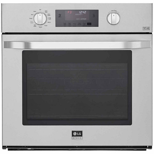 LG 30 Single Wall Oven with True Convection System