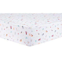 Trend Lab Farm Stack Animals + Insects Crib Sheet