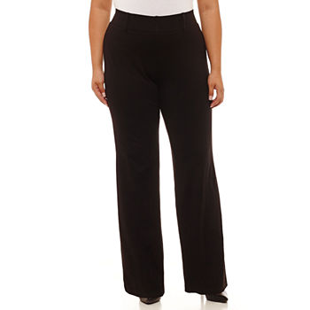 500d04097eb Worthington Pull-On Bootcut Trousers - Plus. Add To Cart. Black. BUY MORE  AND SAVE WITH CODE  9ACTNOW