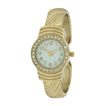 Olivia Pratt Womens Gold Tone Bracelet Watch - A917620gold