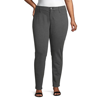 a.n.a-Plus Womens Mid Rise Skinny Pull-On Pants