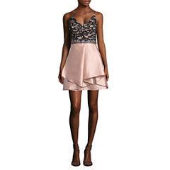 Byer California Sleeveless Party Dress-Juniors
