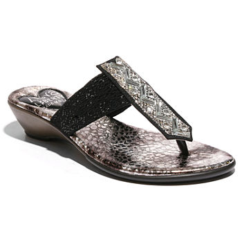 814c4b2b592 Black All Sandals   Flip Flops for Shoes - JCPenney