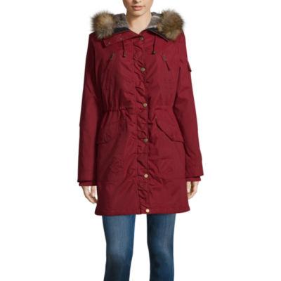 Jumpo london black faux fur coat