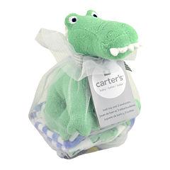 Carter's® Gator Bath Toy and Washcloths