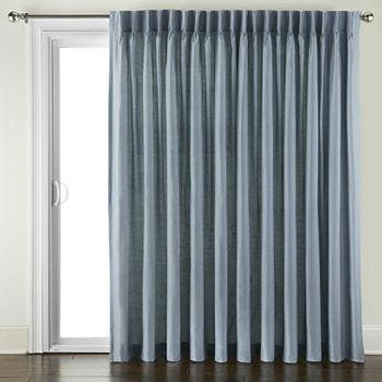 Pinch Pleat Patio Door Curtains