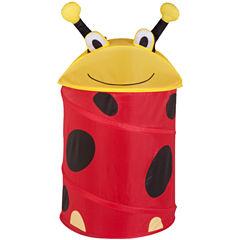 Honey-Can-Do® Ladybug Medium Pop-Up Hamper